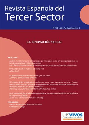 REVISTA ESPAÑOLA DEL TERCER SECTOR. Nº 36-2017 II CUATRIMESTRE