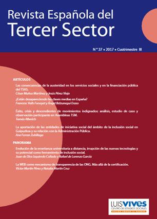 REVISTA ESPAÑOLA DEL TERCER SECTOR. Nº 37-2017 III CUATRIMESTRE