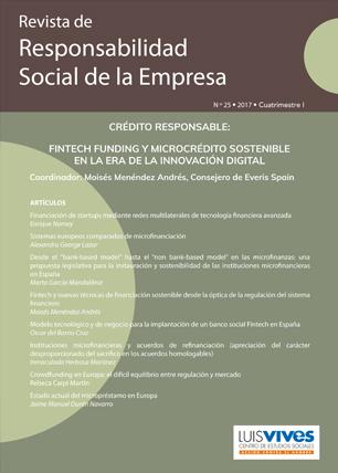 REVISTA DE RESPONSABILIDAD SOCIAL DE LA EMPRESA. Nº 25-2017 I CUATRIMESTRE