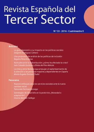 REVISTA ESPAÑOLA DEL TERCER SECTOR. Nº 33-2016 II CUATRIMESTRE
