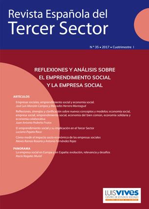 REVISTA ESPAÑOLA DEL TERCER SECTOR. Nº 35-2017 I CUATRIMESTRE