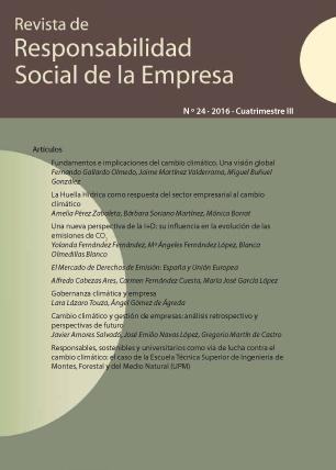 REVISTA DE RESPONSABILIDAD SOCIAL DE LA EMPRESA. Nº 24-2016 III CUATRIMESTRE